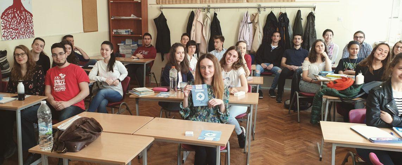 Ирина обратно в класната стая в 91 НЕГ